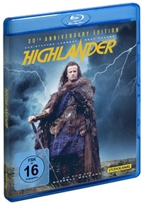 Blu-ray Cover - Highlander - 30th Anniversary Edition, Rechte bei Studio Canal
