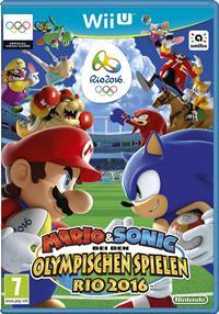 WiiU Cover - Mario & Sonic bei den Olympischen Spielen - Rio 2016, Rechte bei Nintendo