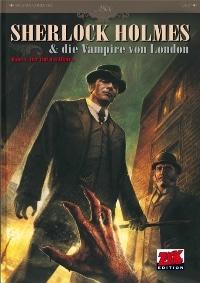 Comic Cover - Sherlock Holmes & die Vampire von London #1: Der Ruf des Blutes, Rechte bei Zack Edition im MOSAIK Steinchen für Steinchen Verlag