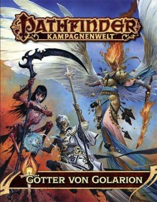 Cover - Götter von Golarion, Rechte bei Ulisses Spiele