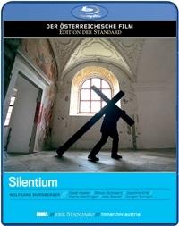 Blu-ray Cover - Silentium, Rechte bei Hoanzl