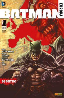 Batman: Europa 1 + 2, Rechte bei Panini Comic