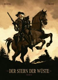 Comic Cover - Der Stern der Wüste #2, Rechte bei Panini Comis