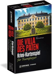 Kartenspielschachtel - Die Villa des Paten, Rechte bei Gmeiner Verlag