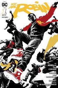 Comic Cover - We are Robin #1: Junge Helden, Rechte bei Panini Comics