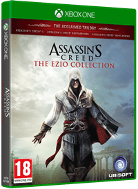Xbox One Cover - Assassin's Creed The Ezio Collection, Rechte bei Ubisoft