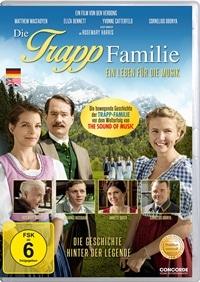 DVD Cover - Die Trapp Familie – Ein Leben für die Musik, Rechte bei Concorde Home Entertainment