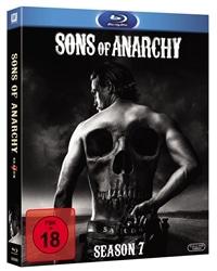 Blu-ray Cover - Sons of Anarchy - Season 7, Rechte bei Twentieth Century Fox