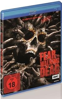 Blu-ray Cover - Fear the Walking Dead - Die komplette zweite Staffel, Rechte bei WVG
