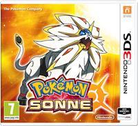 3DS Cover - Pokémon Sonne, Rechte bei Nintendo / The Pokémon Company