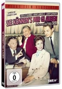 DVD Cover - Sie können's mir glauben, Rechte bei Pidax Film