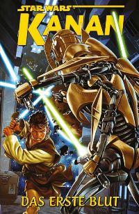 Comic Cover - Star Wars: Kanan - Das erste Blut, Rechte bei Panini Comics