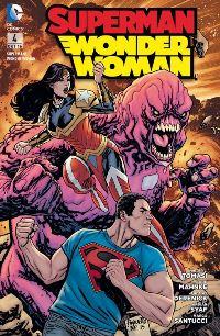 Comic Cover - Superman/Wonder Woman #4: Gebrochene Herzen, Rechte bei Panini Comics
