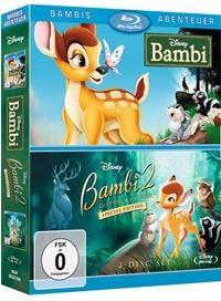 Blu-ray Cover - Bambi & Bambi 2, Rechte bei © 2016 Disney
