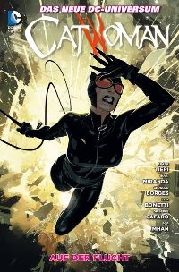 Comic Cover - Catwoman #9: Auf der Flucht, Rechte bei Panini Comics