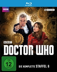 Blu-ray Cover - Doctor Who - Staffel 8 - Komplettbox, Rechte bei polyband