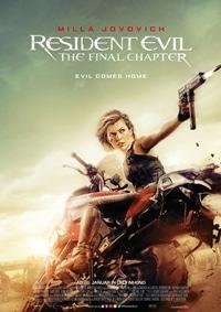 Filmplakat - Resident Evil: The Final Chapter, Rechte bei Constantin Film