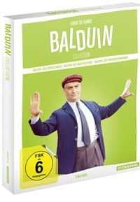 Blu-ray Cover - Louis de Funès - Balduin Collection, Rechte bei Studio Canal