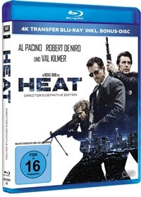 Heat - Director's Definitive Edition, © 2016 Twentieth Century Fox Home Entertainment