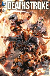 Comic Cover - Deathstroke #4: Pakt mit dem Teufel, Rechte bei Panini Comics