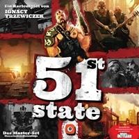 Brettspiel Cover - 51st State: Das Master-Set, Rechte bei Portal Games