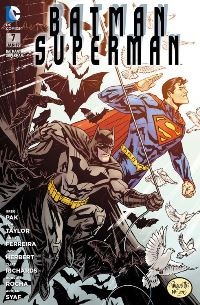 Comic Cover - Batman/Superman #7: Fünf gegen Vandal Savage, Rechte bei Panini Comics