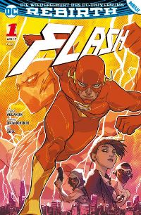 Flash #1: Die Flash-Akademie, Rechte bei Panini Comics