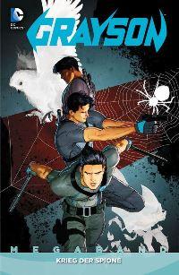 Comic Cover - Grayson Megaband #2: Krieg der Spione, Rechte bei Panini Comics