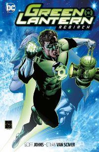 Cover - Green Lantern: Rebirth, Rechte bei Panini Comics
