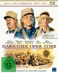 Blu-ray Cover - Marschier oder stirb (Remastered Edition), Rechte bei NewKSM