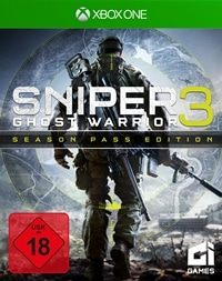 Xbox One Cover - Sniper Ghost Warrior 3, Rechte bei CI Games