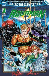 Aquaman #1: Der Untergang, Rechte bei Panini Comics