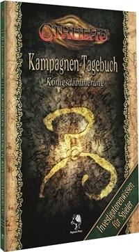 Cthulhu: Königsdämmerung - Tagebuch für Spieler, Rechte bei Pegasus Spiele