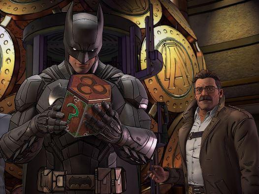 Batman: Der Feind im Inneren, Rechte bei Telltale