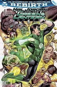 Hal Jordan und das Green Lanterns Corps #2: Folter, Rechte bei Panini Comics