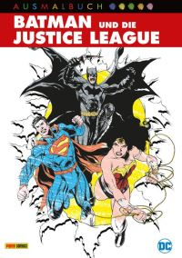 Batman und die Justice League Ausmalbuch - Cover