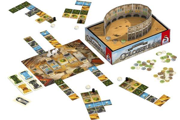 Die Baumeister des Colosseum - Inhalt