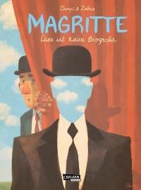 Magritte - Dies ist keine Biografie, Rechte bei Carlsen Comics