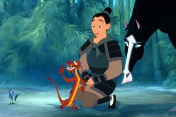 Mulan und ihre Freunde