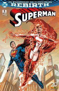 Superman #5, Rechte bei Panini Comics