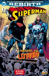 Superman #8, Rechte bei Panini Comics