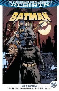 Batman Paperback #1: Ich bin Gotham, Rechte bei Panini Comics