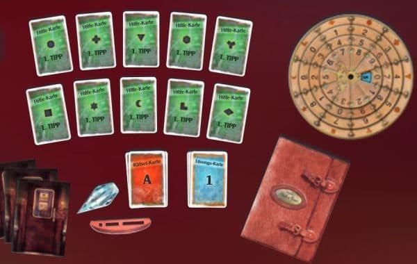 Exit - Das Spiel: Der Tote im Orient-Express - Spielmaterial