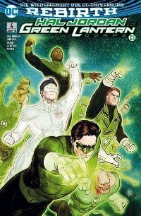 Hal Jordan und das Green Lantern Corps #4: Suche nach Hoffnung; Rechte bei Panini Comics