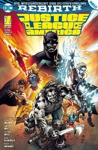 Justice League America #1: Die Extremists, Rechte bei Panini Comics
