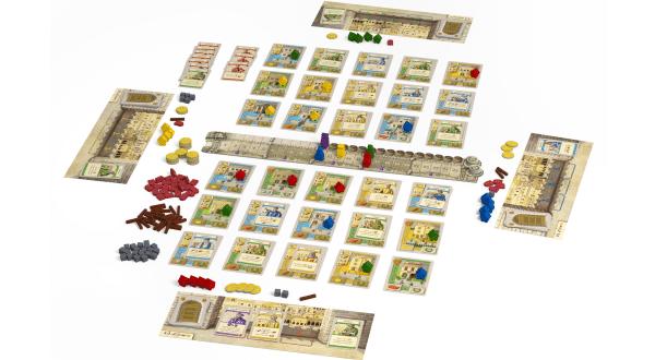 Valletta - Spielaufbau
