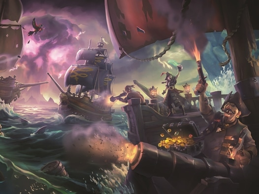 Sea of Thieves Key Art No Logo
