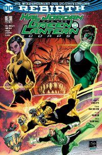 Hal Jordan und das Green Lantern Corps #5: Der Bruch, Rechte bei Panini Comics