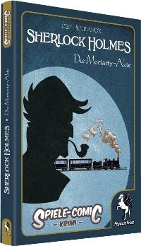 Spiele-Comic Krimi: Sherlock Holmes #2 - Die Moriarty-Akte, Rechte bei Pegasus Spiele