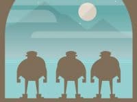 Burly Men at Sea: A folktale adventure